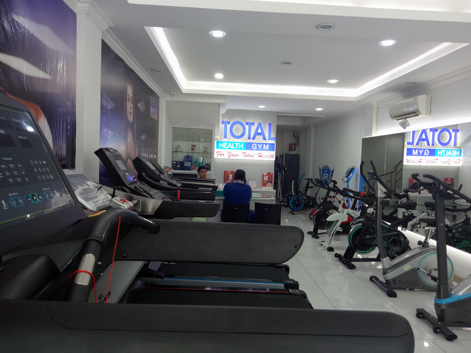 treadmill merk total fitness
